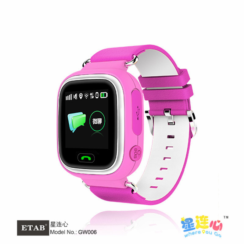 ETAB GW006 kIDS Watch with 1.22 Inch Touch Sreen Remote Monitoring Alarm GPS WIFI LBS AGPS Positioning