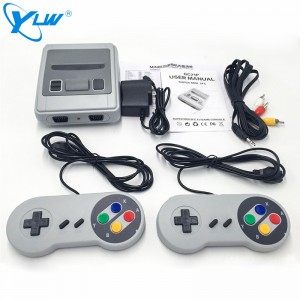 YLW GC21P-621 Classic Video Game Console Funny Mini TV Handheld Family Game Console With 621 Built-in Game
