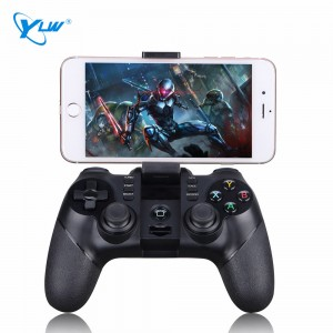 YLW MG12 Top Selling Products Mobile Phone Game Controller Joystick Gun Bluetooth Gamepad