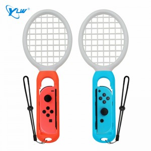 YLW STR01 Switch Accessories Tennis Game Playing ABS Tennis Racket Handle Controller