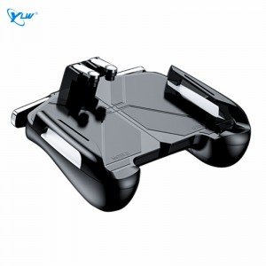 YLW CJ-3 Mobile Game Controller Handle, Shooting Hand Stick For iPhone Android Mobile Game Tablet Auxiliary Device