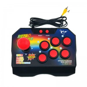 YLW 16 Bit  Retro Arcade Game Console TV Video Joystick With 145 Games
