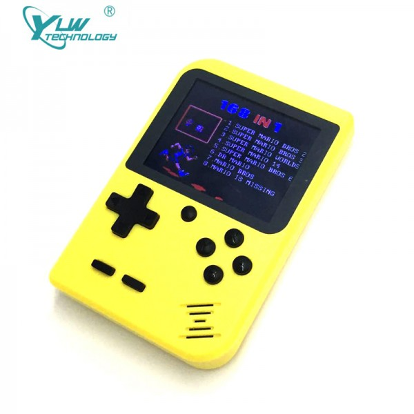 YLW 2.8inch TFT Screen Retro Mini Game Console GC26