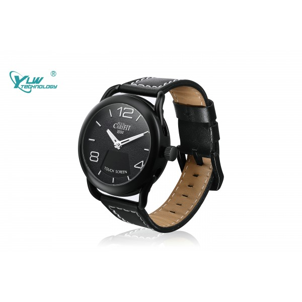 YLW Z18 Stylish Sigle Touch Screen Smart  Watch with Heart Rate Monitor 3ATM  Waterproof
