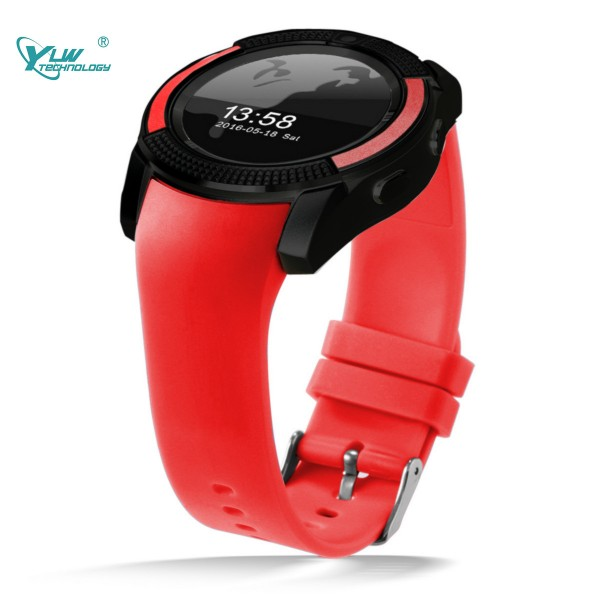 YLW V8 Smart Watch with OGS Touch Screen Music Control Sedetary Reminder Motion Recording