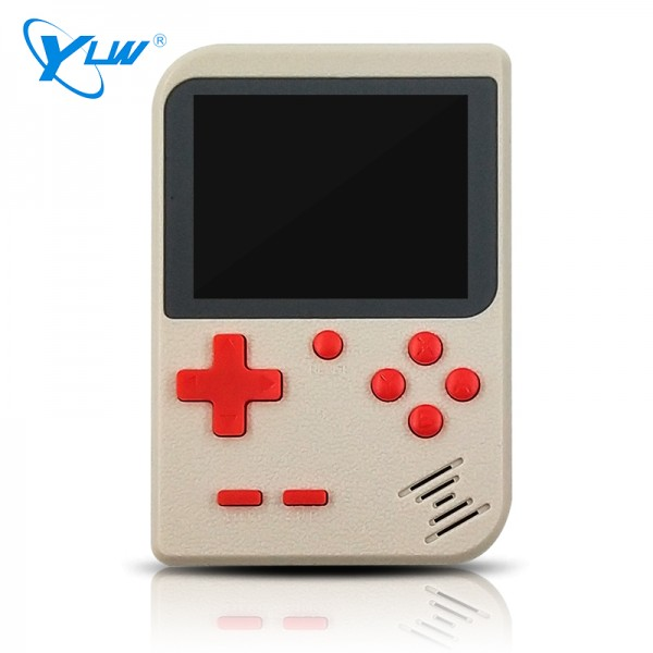 YLW GC26S-400 New design portable handheld console built-in 400 retro games support 2 players TV console