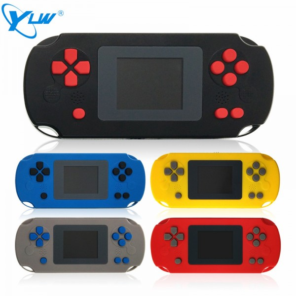 YLW GC31-268 Portable Classic Handheld Game Console Built In 268 Retro Games With Color Screen