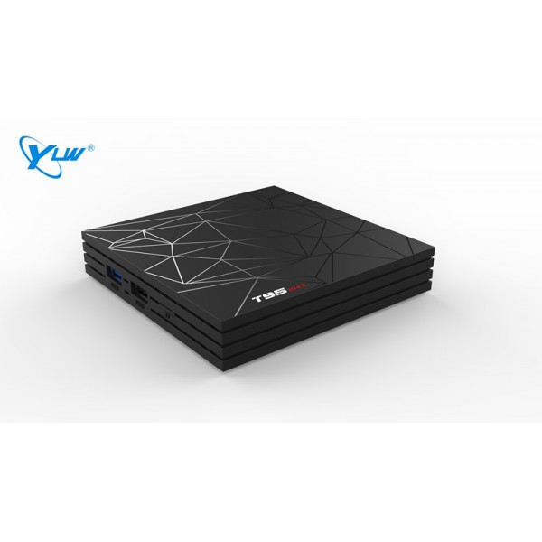 YLW T95MAX H6+4+64 Large Memory, High-definition Screen Support All Kinds Of New And Old TV Of TV Box